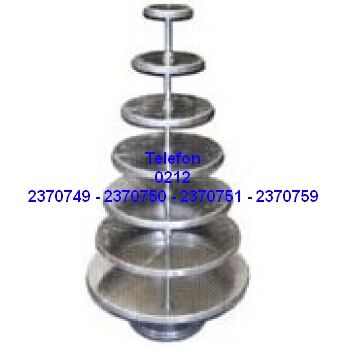 Pastane Malzemeleri : 7 Katlı Paslanmaz Pasta Mankeni Satış Telefonu 0212 2370749