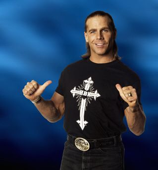My hero, The icon, the main event, the showstopper, mr wrestlemania, the one the only, the heartbreak kid shawn micheals