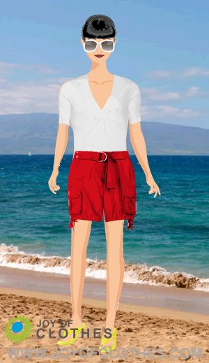 How to wear shorts for you inverted triangle body shape!   Looks   Style Me   Joy of Clothes