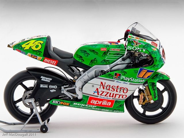 Aprilia 250 cc - Valentino Rossi - GP Imola 1999 by vegasracer, via Flickr
