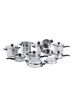 120231 - iCook® 19-piece All Stainless Steel Set