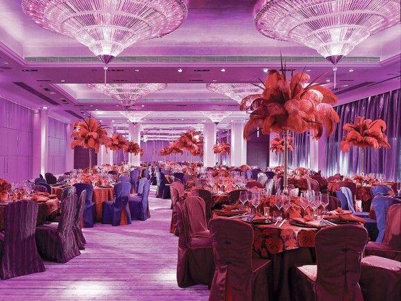 luxury romantic interior restaurant the mira hong kong