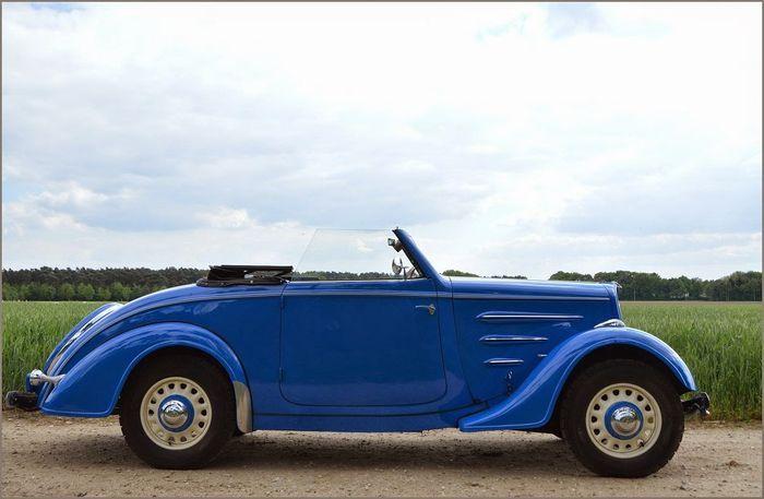 Peugeot - 201 M Cabriolet - 1937