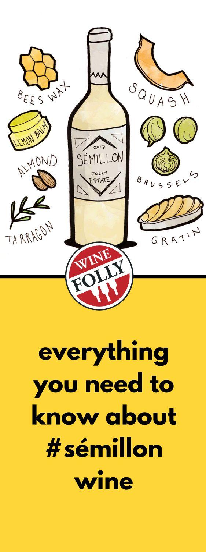 #Semillon Wine, Flavor, Character, History, & Food Pairings.