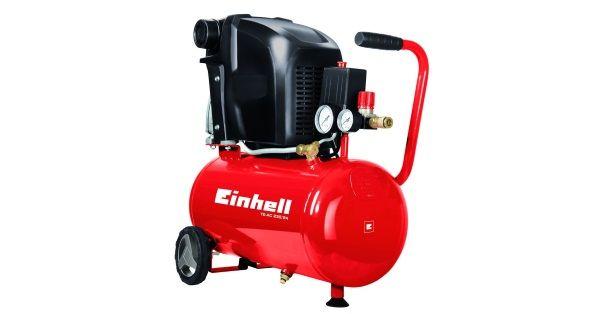 Compresor de aire Einhell TE-AC 230/24 Compresor de aire Einhell TE-AC 230/24 - Análisis detallado con especificaciones técnicas consejos prácticos opinion de expertos y mejores precios