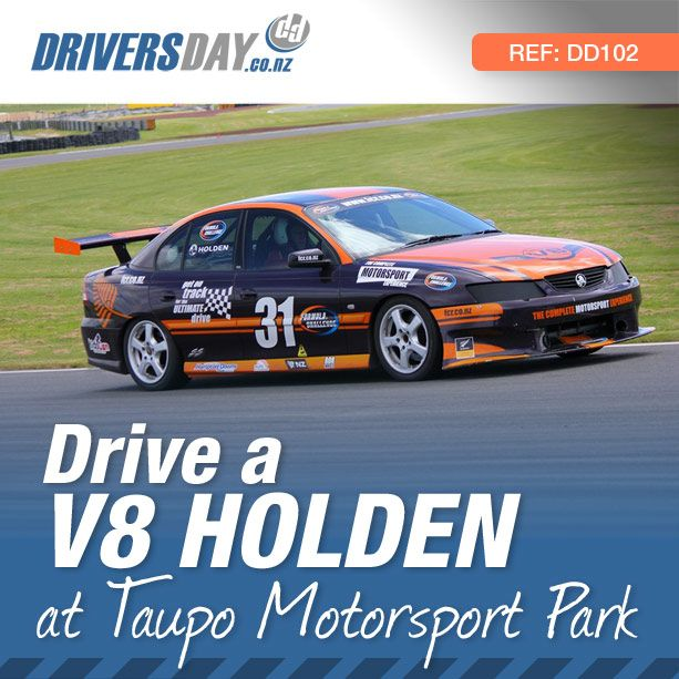 From $375, driving a V8 Holden Race Car at Taupo Motorsport Park is a great gift for men or women. Get strapped into one of these V8 Holdens and experience the stunning performance of these cars as you and your instructor lap the circuit at speeds you never thought possible.