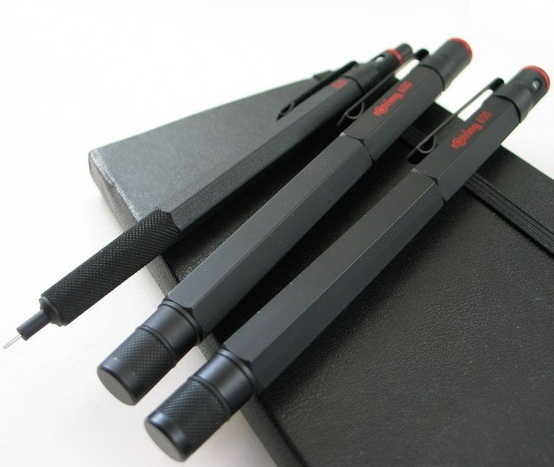 The 600 series features traditional Rotring Bauhaus styling