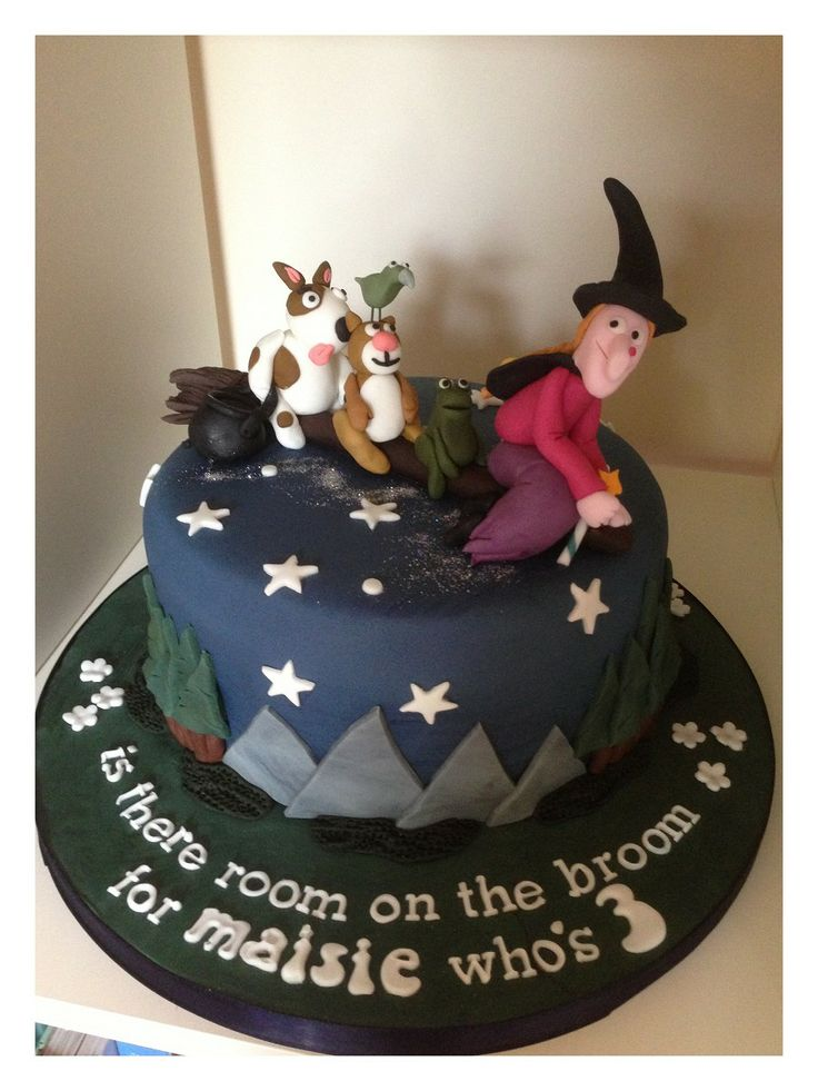 Room on the Broom 3rd Birthday cake