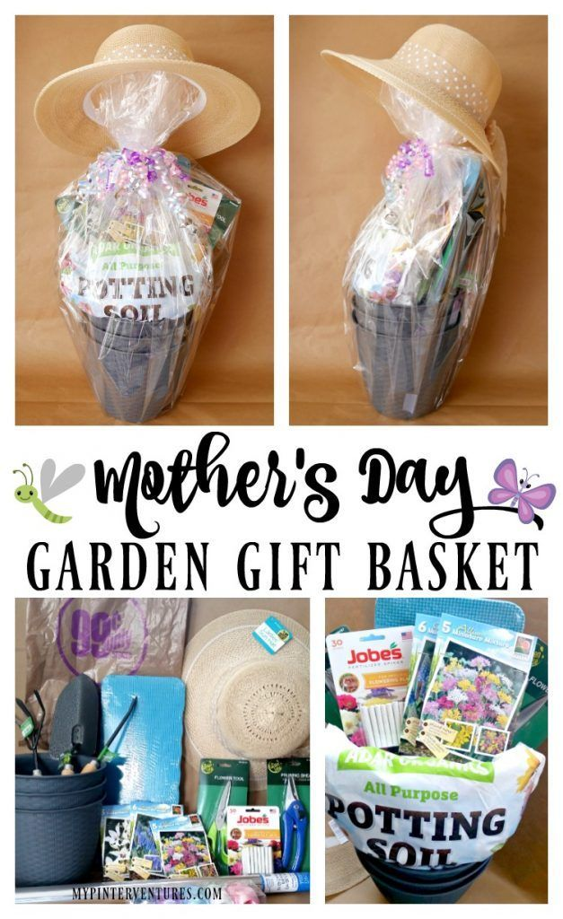 Mother's Day Garden Gift Basket Budget Friendly Idea