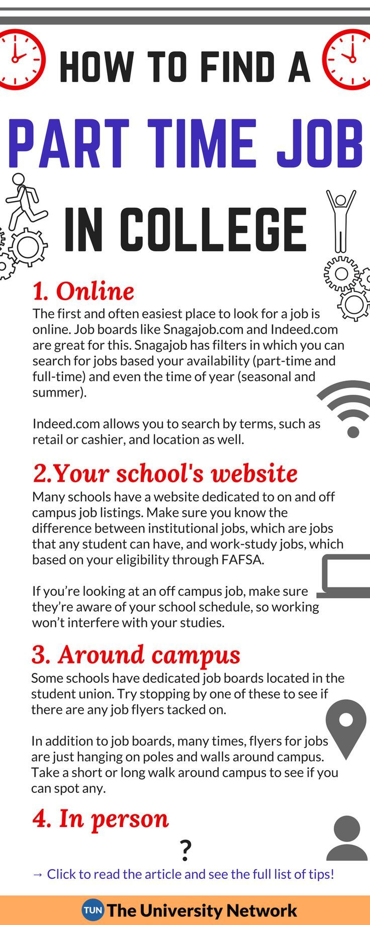 How To Find A Part Time Job In College The University Network Part Time Jobs College Job Best Essay Writing Service