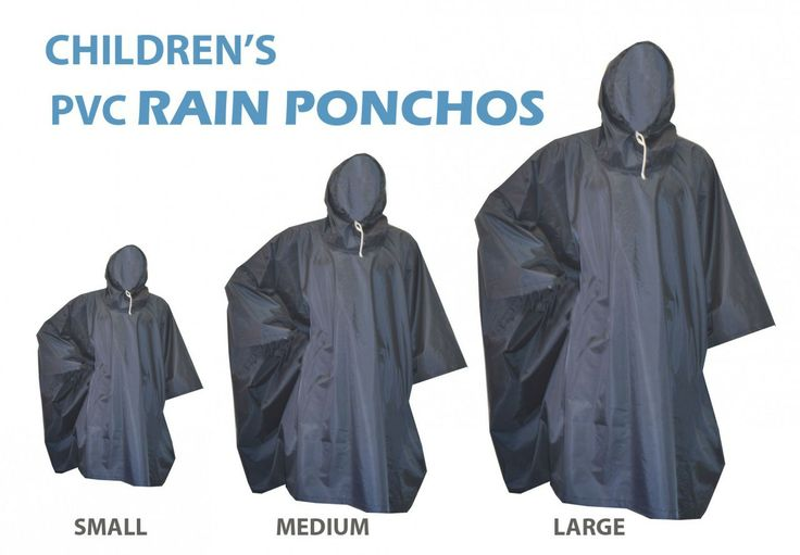 Azul Wear - CHILDREN'S RAIN PONCHOS, Contact us on 0832950769 (http://www.azulwear.com/childrens-rain-ponchos/)