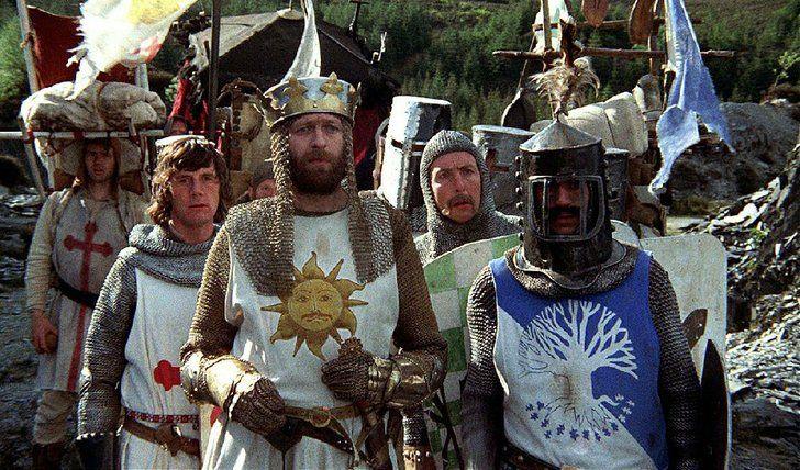 """""""Monty Python Sacré Graal"""" de Terry Jones et Terry Gilliam, programmé samedi 11 novembre à 21h"""