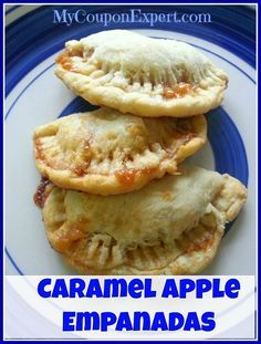 an Easy Caramel apple Empanada recipe that will be a BIG hit at parties or get togethers  !