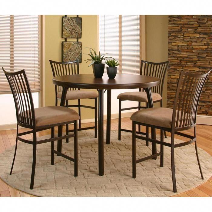 bellevue 5 piece counter height set  nebraska furniture