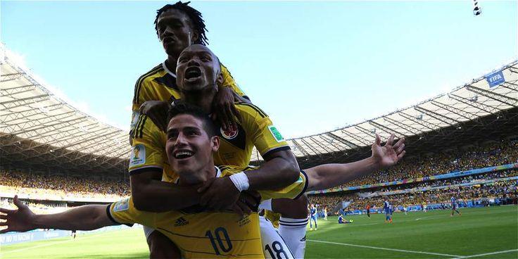 Colombia debuta en Brasil 2014