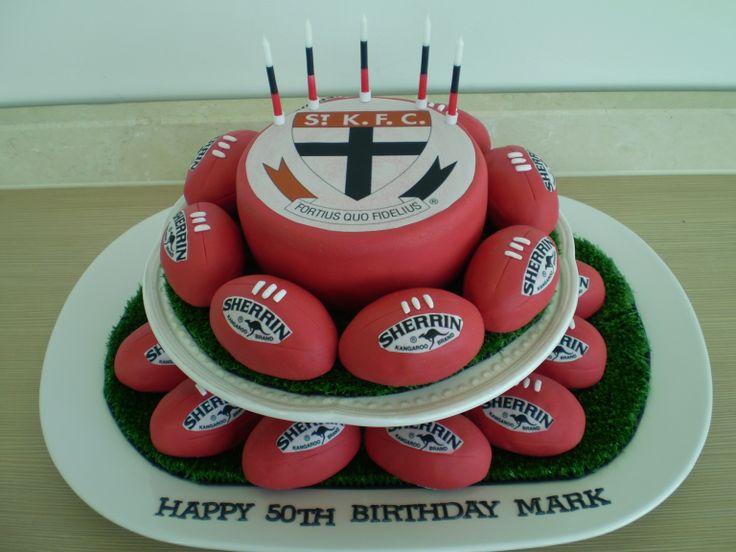 St Kilda footy cake