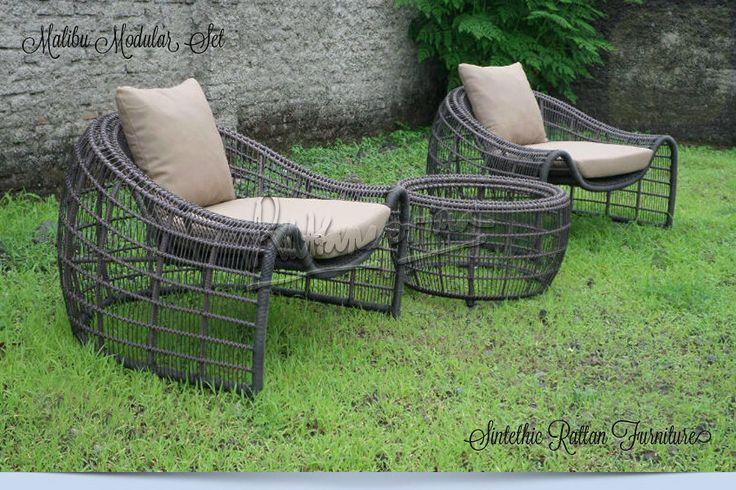 CURVIA Coffee Set – Outdoor Wicker Furniture