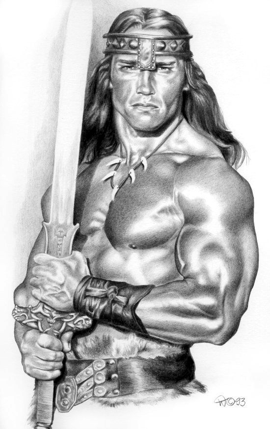 ☆ Conan the Destroyer :¦: Pencil Art By Wendelinn ☆