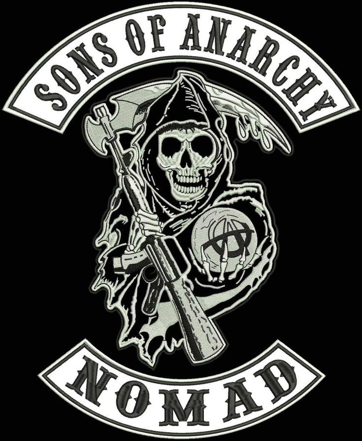 sons of anarchy logos | sons of anarchy logo stencil sons of anarchy logo patch