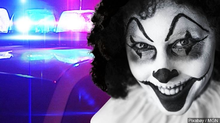 Clown with police lights (Photo: Pixabay/MGN)