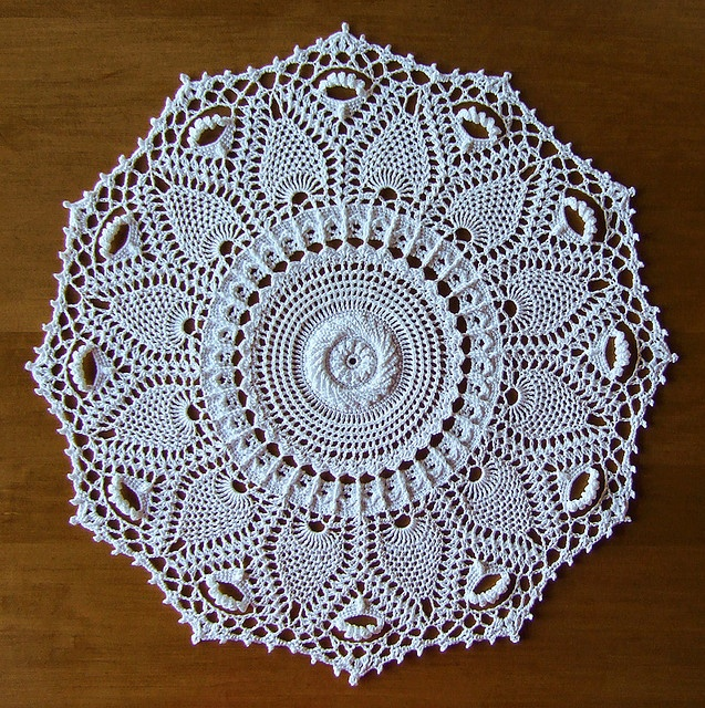 """from the book """"Doilies with a Twist"""" by Patricia Kristoffersen - a set on Flickr - photos and completed doilies by Elaine Pawelko"""