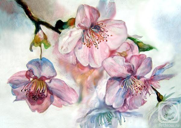 Оригинал схемы вышивки «весенний цвет»