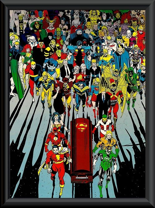 Superman's Funeral by Dan Jurgens