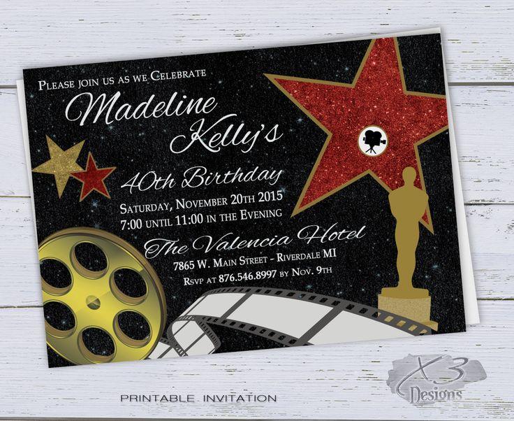 40th birthday invitation printable sweet 16 invitations