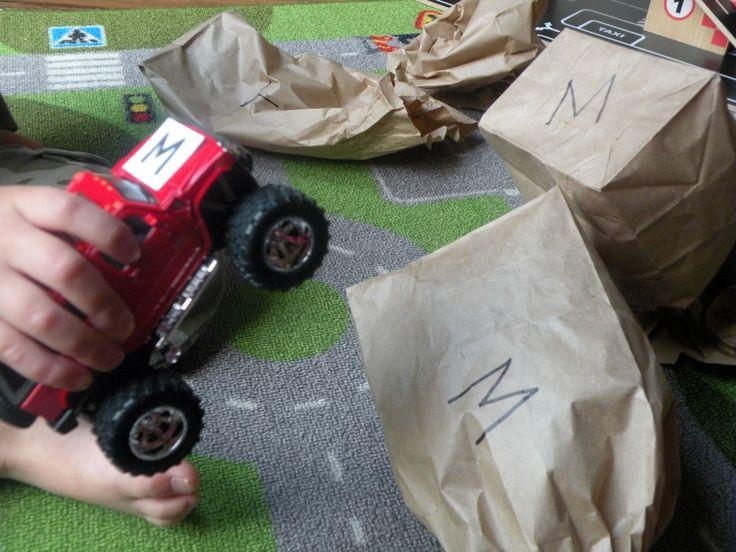Toddler Approved!: Monster Truck (Letter) Mash
