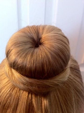 ballet bun how to...with a sock?