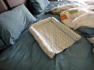 Handmade co-sleeper and sleep sack | Olive and Owl