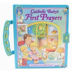 Catholic Baby's First Prayers - Handle Board Book   The Catholic Company