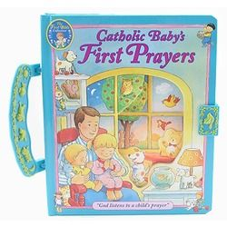 Catholic Baby's First Prayers - Handle Board Book | The Catholic Company