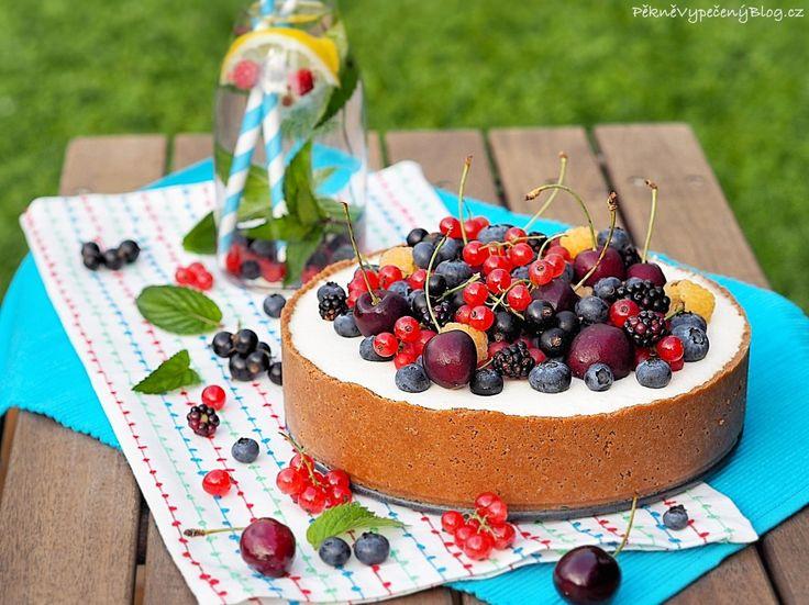 Letní cheesecake (summer cheesecake)