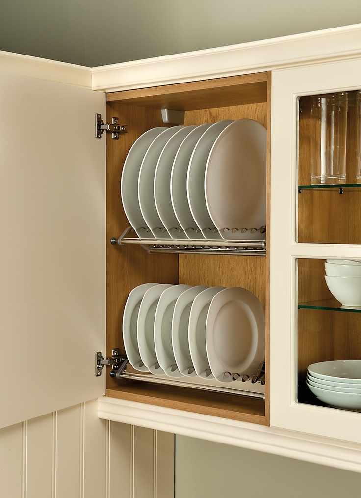 Stainless Steel Plate Rack #storage #solutions