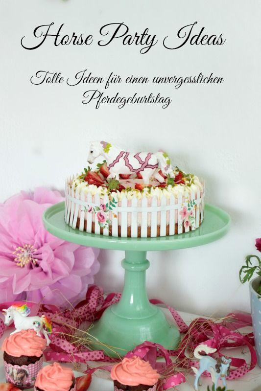 Pferde Geburtstagsparty   Tolle Ideen Für Einen Gelungenen Kindergeburtstag    Teil 1   DIY, Deko, Gastgeschenke