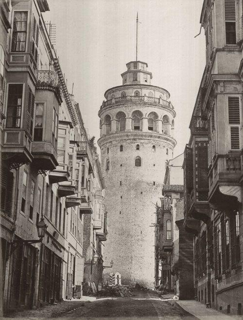 Galata tower, c. 1900