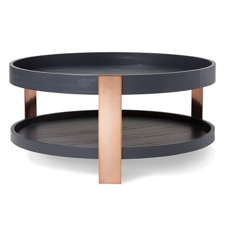 coffee table blackcopper modern by dwell magazine