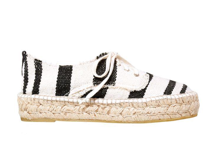 Loeffler Randall Alfie Espadrille Flat // Shop this season's must-have shoes at #FASHIONxHudsonsBay