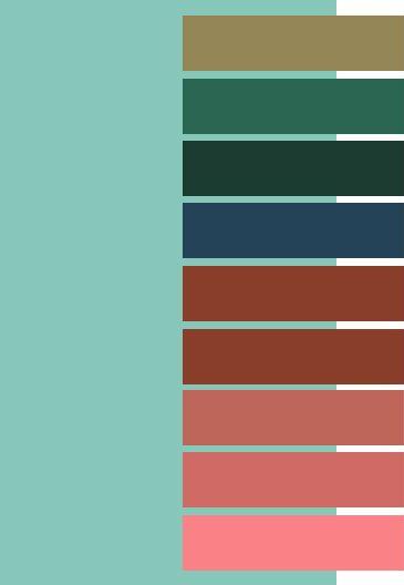 25+ unique Ocean colors ideas on Pinterest