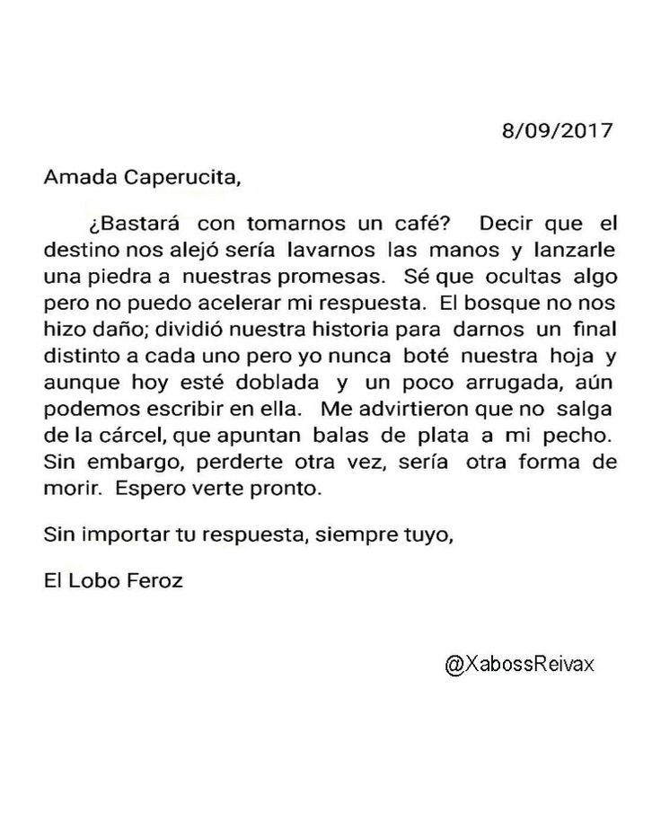Carta#32   @XabossReivax   #ByXaboss