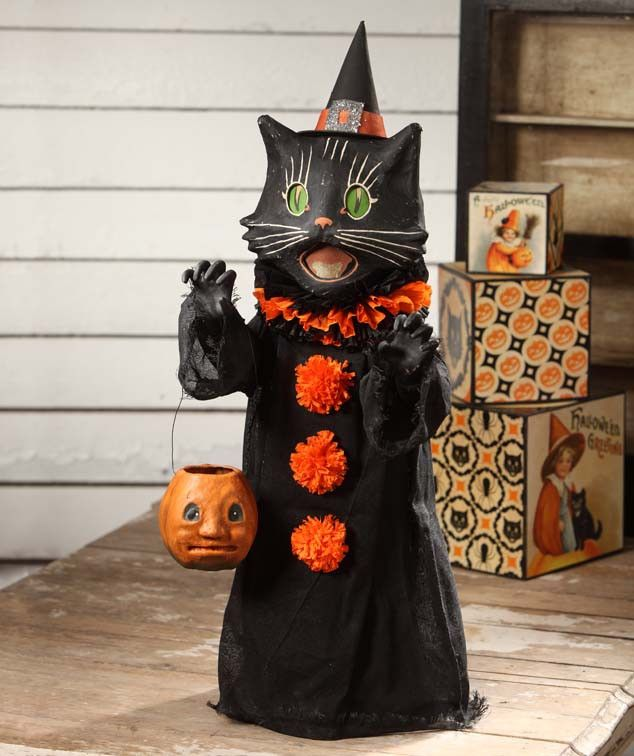 scaredy cat ghoul bethany lowe halloween catvintage halloweenhalloween stuffhalloween ideashalloween