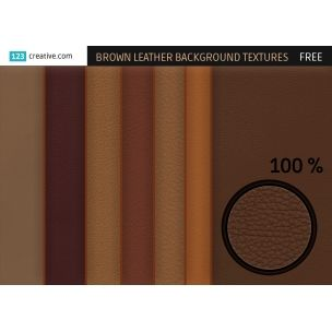 NEW FREEBIES from 123creative.com   Special offer for designers   FREE Brown leather background textures - texture pack contains 24 various high resolution brown leather backgrounds and leather structure textures for graphic design, printing and seamless for 3D use.   Available for download here: http://www.123creative.com/hi-res-leather-textures/915-free-brown-leather-background-textures.html