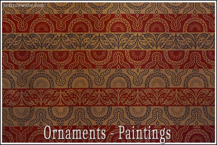 23 ornament paintings added and available on texturewave.com