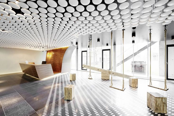 Innocean Headquarters Europe, Office interior by Ippolito Fleitz Group
