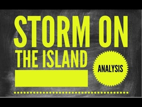literary analysis of the storm Category: chopin storm essays title: free essays - analysis of kate chopin's the storm.