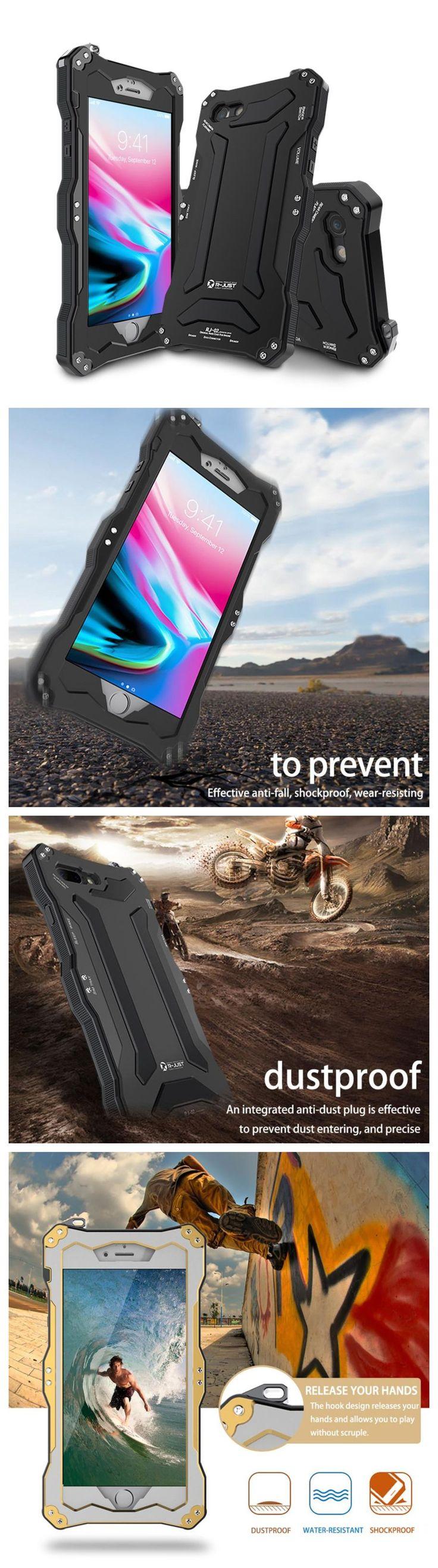 New Iphone 7 8 Plus Luxury Slim Metal Case With