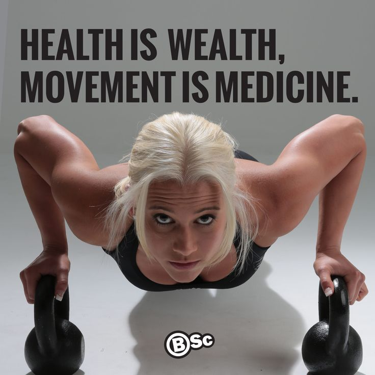 Health is wealth, movement is medicine. www.bodyscience.com.au