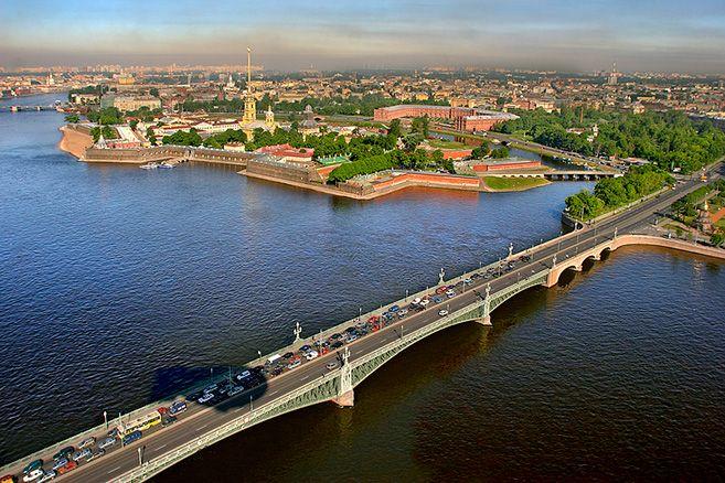 St Petersburg, Trinity Bridge