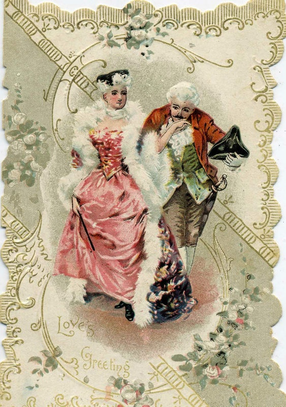 103 Best Vintage Victorian Postcards Images On Pinterest